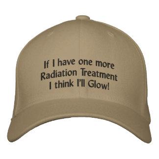 Wenn ich eine weitere Strahlentherapie ich habe, Bestickte Kappe