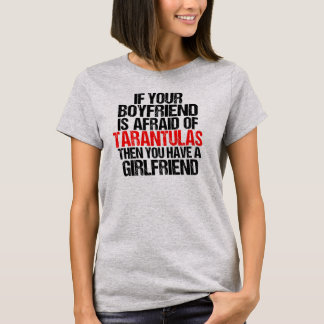 Wenn Ihr Freund-T - Shirt (heller Stahl)