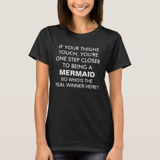 Wenn Ihr Schenkel-Touch-T-Shirt T-Shirt