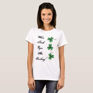 Wenn irisch, lächeln Augen T-Shirt