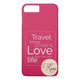 Wenn Reise Ihre Liebe ist, seine für Sie! iPhone 8 Plus/7 Plus Hülle