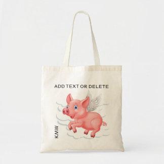 Wenn Schweine Tasche fliegen