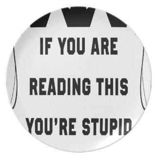 Wenn Sie dieses lesen Teller