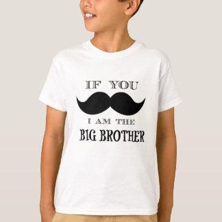 Wenn Sie fragen müssen, bin ich der große Bruder T-Shirt
