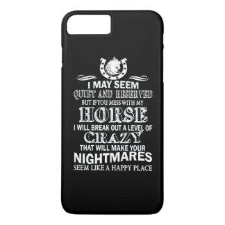 Wenn Sie mit meinem Pferd verwirren iPhone 8 Plus/7 Plus Hülle