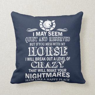 Wenn Sie mit meinem Pferd verwirren Kissen