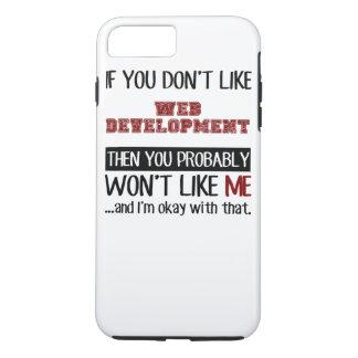 Wenn Sie Netz-Entwicklung nicht cool mögen iPhone 8 Plus/7 Plus Hülle