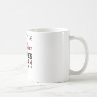 Wenn Sie Netz-Entwicklung nicht cool mögen Kaffeetasse