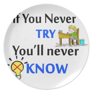 Wenn Sie nie versuchen, wissen Sie nie Essteller