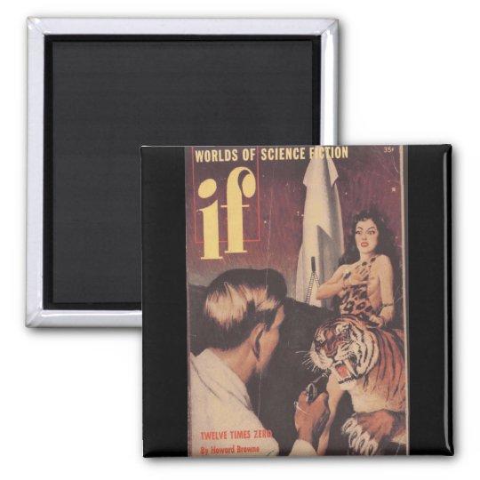 Wenn v01 n01 (1952-03.Quinn) _Pulp Kunst Quadratischer Magnet
