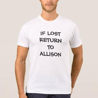 WENN VERLORENE RÜCKKEHR ZU (zu gehört das T-Shirt