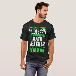 Wenn zuerst Sie folgen Don t dem Versuch-Handeln, T-Shirt