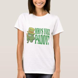 Wer Ihr Paddy-Kleeblatt ist T-Shirt