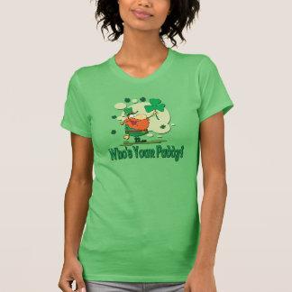 Wer Ihr Paddy-lustiger Kobold ist T-Shirt