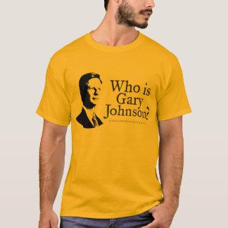 Wer ist Gary Johnson? Shirt