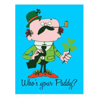 Wer ist Ihr Paddy? Postkarte