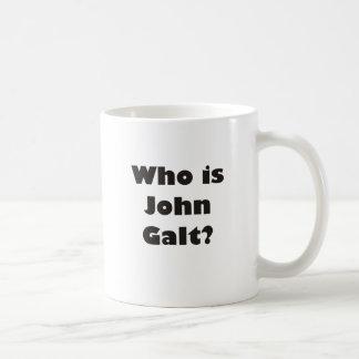 Wer ist John Galt? Kaffeetasse
