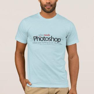 Wer Photoshop benötigt, wenn Sie einen Körper so T-Shirt