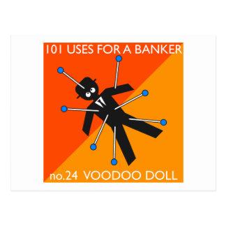 wer wusste, was Sie mit Voodoo? tun? Postkarten