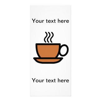 Werbekarten personalisierbar - Kaffee Werbekarte