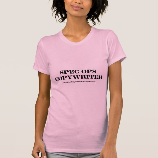 Werbetexter-T - Shirt Spezifikt. Ops