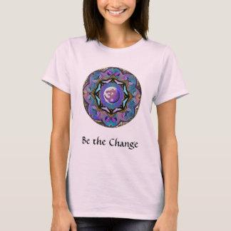 Werden die Änderung ~ Mond-Mandala T-Shirt