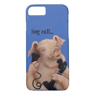 """Werden Sie Bullas anrufen Abdeckung """"Schweinanruf… iPhone 7 Hülle"""