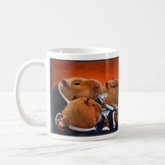"""Werden Sie Bullas-Tasse """"der Capybara-Verein… """" Kaffeetasse"""