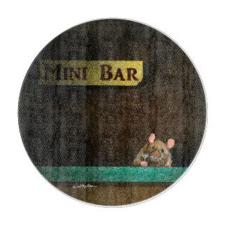 """Werden Sie Bullasausschnitbrett """"MiniBar… """" Schneidebrett"""