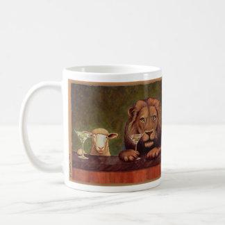 Werden Sie friedliches Königreich der Bullas-Tasse Kaffeetasse