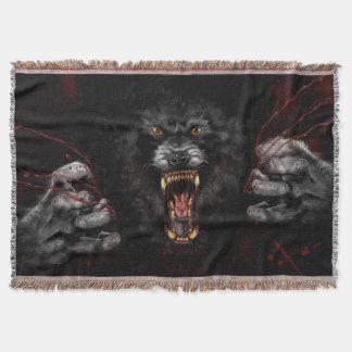 Werewolf, der heraus Ihr Herz zerreißt Decke