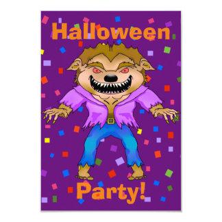 Werewolf-Halloween-Party-Einladung 8,9 X 12,7 Cm Einladungskarte