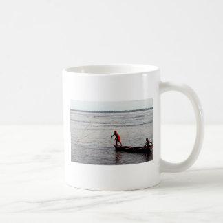 Werfendes Netz, der Amazonas Kaffeetasse