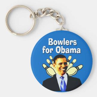 Werfer für Obama politisches Keychain Standard Runder Schlüsselanhänger