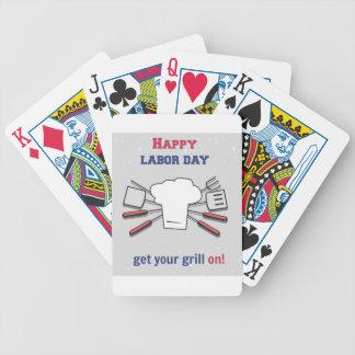 Werktags-Feiertag Bicycle Spielkarten