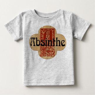 Wermut-eingebildeter Flaschen-Aufkleber Baby T-shirt