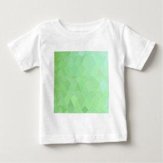 Wermut-grüner abstrakter niedriger baby t-shirt