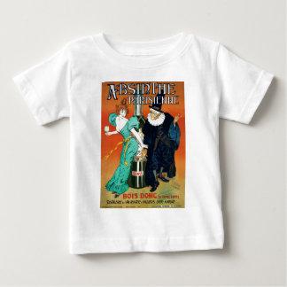 Wermut Parisienne Vintage französische Anzeige Baby T-shirt