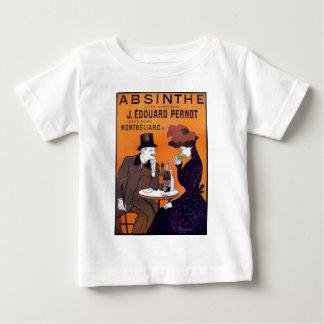 Wermut-Plakat-Kunst-Kreationen Baby T-shirt