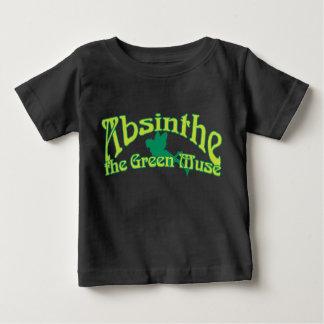 Wermut-Text das grüne Muse Baby T-shirt