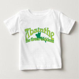 Wermut-Text die grüne Göttin Baby T-shirt