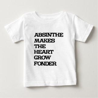 Wermut-Wachstum Baby T-shirt