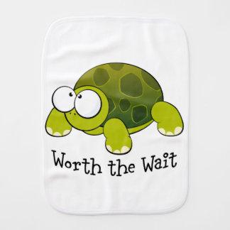 Wert die Wartezeit-Schildkröte Spucktücher