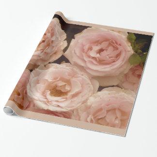 Wertvolles Rosen-Verpackungs-Papier Geschenkpapier