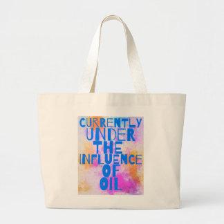 Wesentliches Öl-Taschen-Tasche Jumbo Stoffbeutel