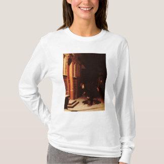 Wessen verfolgt im Schnee? T-Shirt
