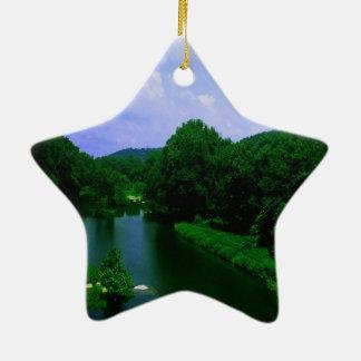 West Virginia Keramik Ornament