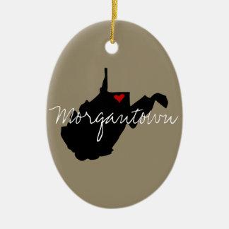 West- Virginiastadt Keramik Ornament