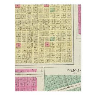 Westebenen, Lerado, Stella, Rebhuhn, Kansas Postkarte