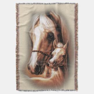Western-Blondinen Decke